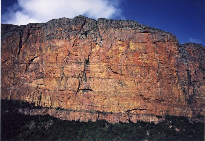 File:Blouberg North Wall Limpopo Province, South Africa.jpg