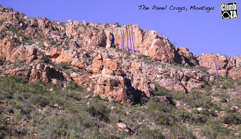 The Panel Crags, Bosch Kloof