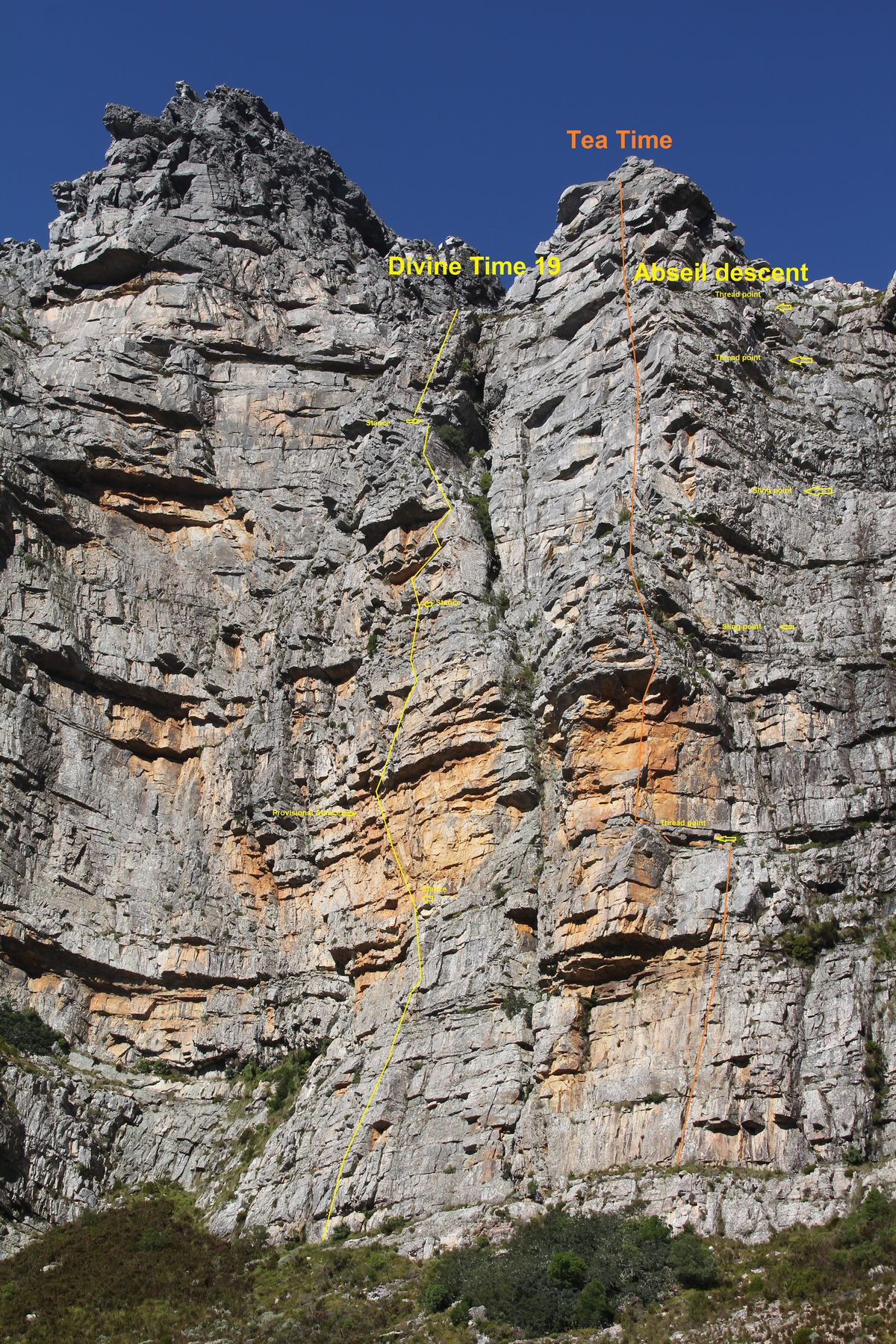 Divine Time Buttress High Res with Tea Time and Abseil points.jpg