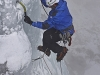 Makhaza ice climbing by Cesar De Carvalho 