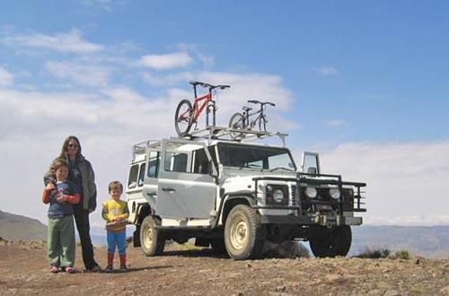 Lesotho roger nattrass family
