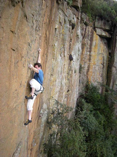 Roger on Nothing Heals Like Cold Steel (27) (First Ascent)