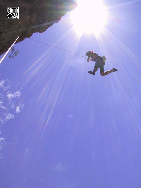 climbing fall