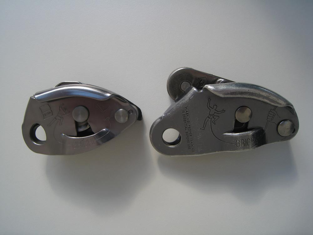 Old and new Grigri compared
