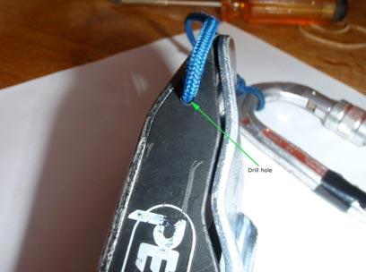 Grigri keeper cord