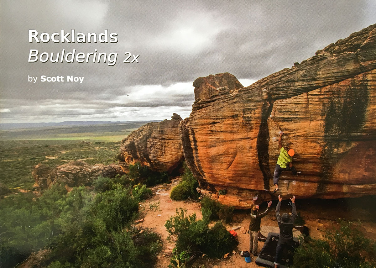 Rocklands 2nd edition Guidebook