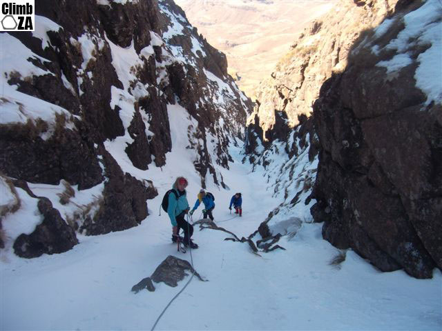 Ice Climbing Report South Africa