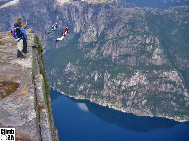 BASE jump Norway