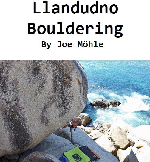 Bouldering at Llandudno, Guide, Topo