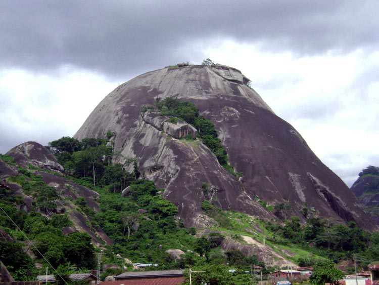 Idanre mountain, Nigeria