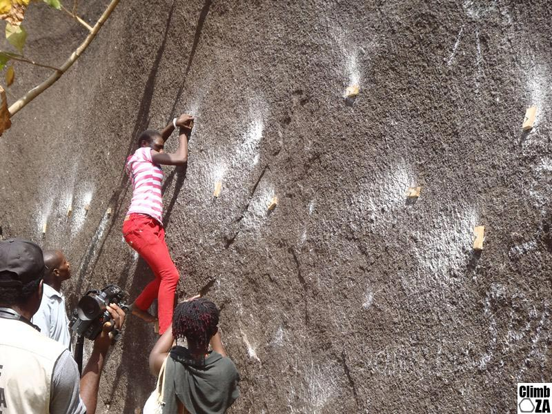 Nigeria Rock Climbing