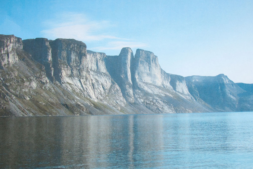 Pond Inlet rock walls