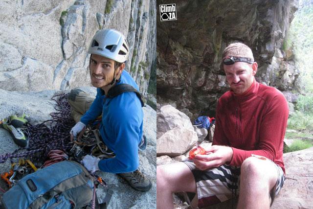 Steve Bradshaw and Dave Glass SA Arctic Expedition