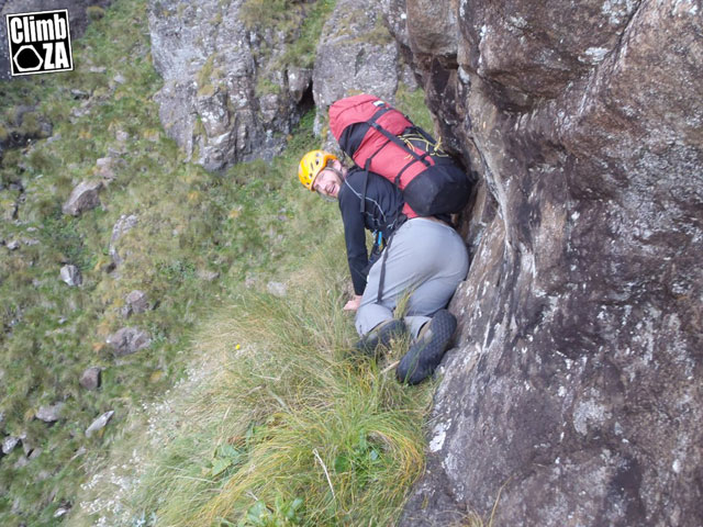 Eastern Buttress - climbing in the Drakensberg