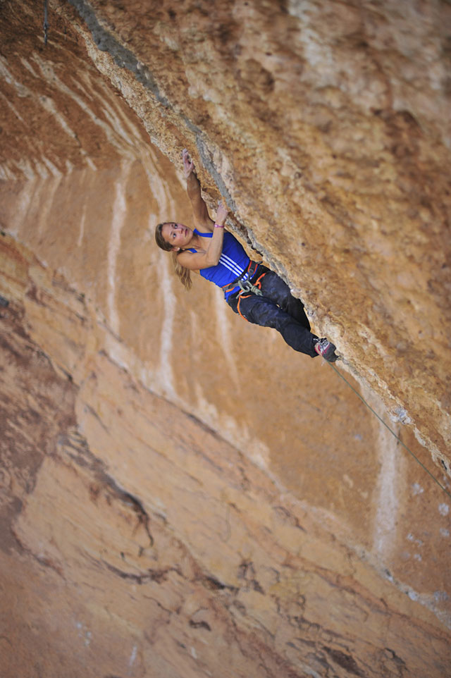 Sasha DiGiulian on EraBella (36/9a)