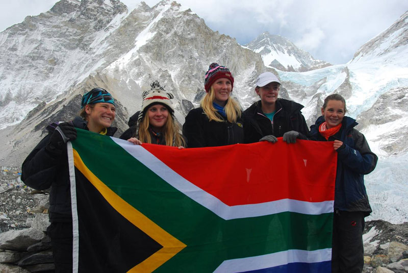 St Mary's girls reach new heights at Everest. - Climb ZA ...