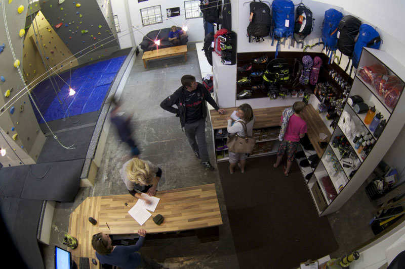 Southern Rock Climbing Gym shop