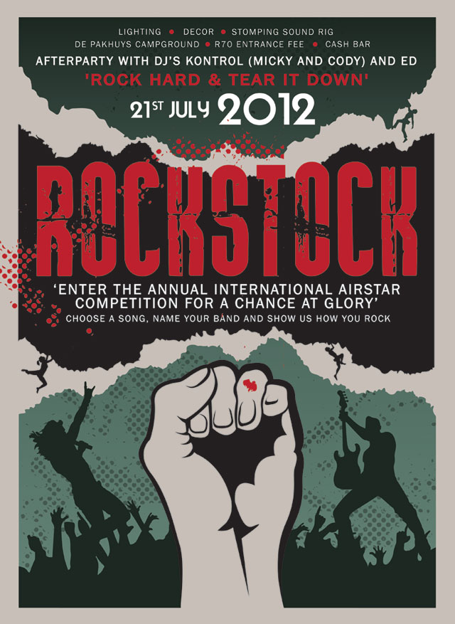 Rockstock 2012 Poster