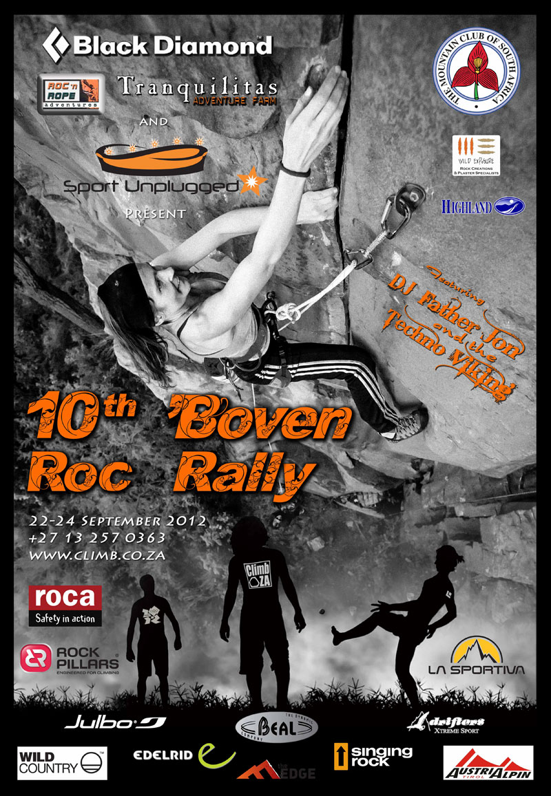 Waterval Boven Rock Rally 2012 poster