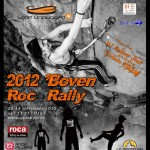 Boven Roc Rally 2012 poster