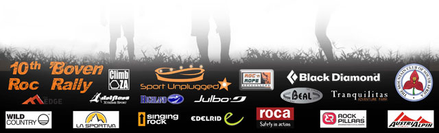 Boven Roc Rally sponsors 2012