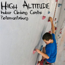 High Altitude Climbing Gym Logo