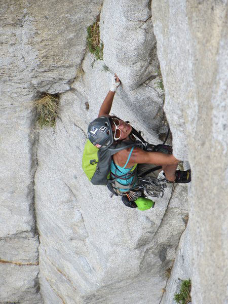 Gosia Lipinska rock climbing South Africa