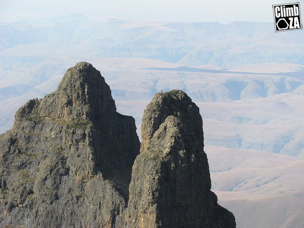 Top of the Column, Drakensberg.