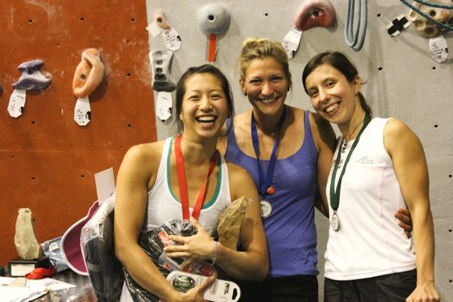 Rockmaster winners women 2012