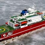 SA Aguhlas 2 icebreaker South African polar explorer
