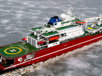 SA Aguhlas 2 icebreaker South African polar explorer