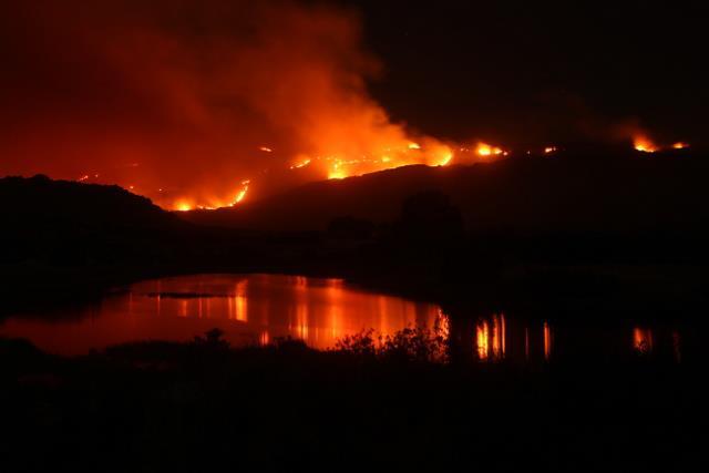 Cederberg fire January 2013