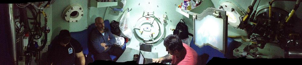 deepsea chamber living quarters