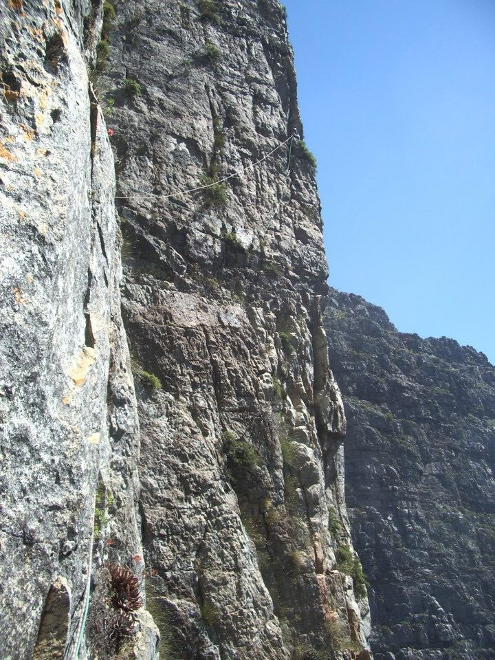 rock climbing traverse