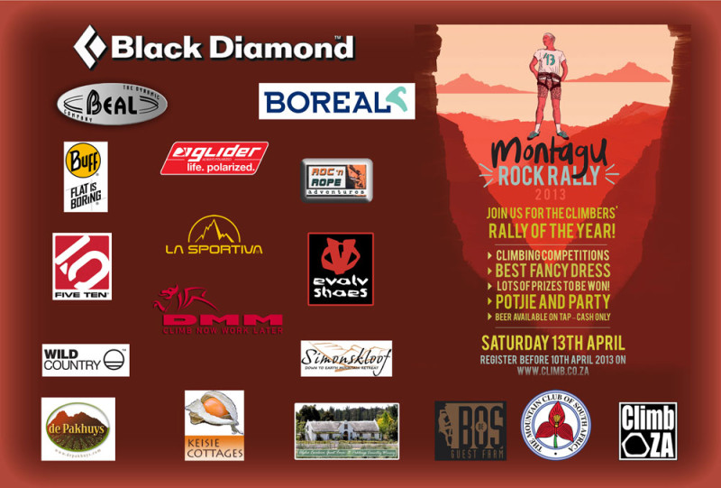 Montagu Rock Rally 2013 Sponsors