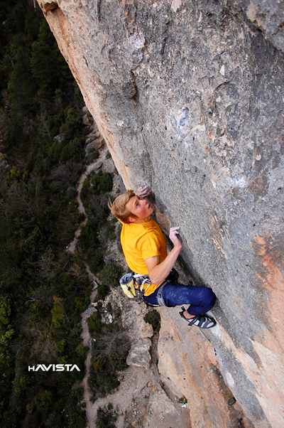 Alex Megos Estado Critico 9a Onsight