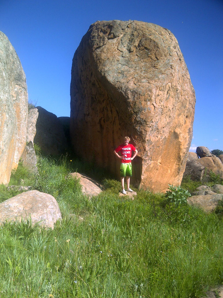 new area Mpumalanga Bouldering Festival 2014