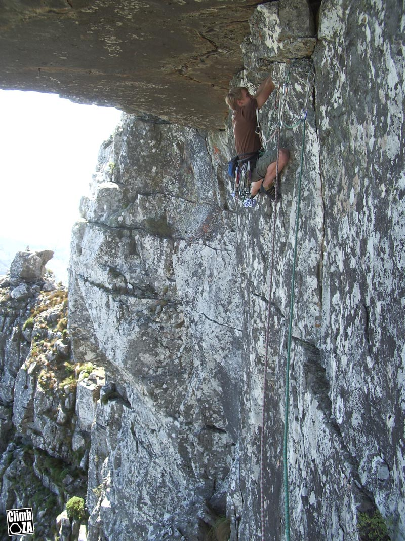 Space Race - a new route on Table Mountain - Climb ZA ...