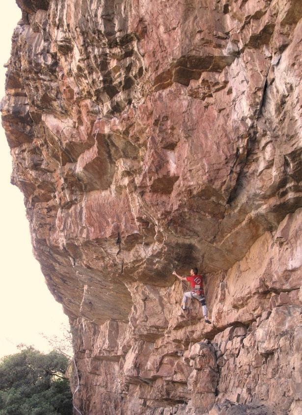 Rock climbing Chosspile