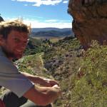 Clinton Martinengo rock climbing, Montagu