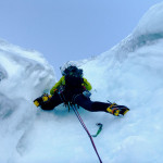 ice climbing on Ben Nevis