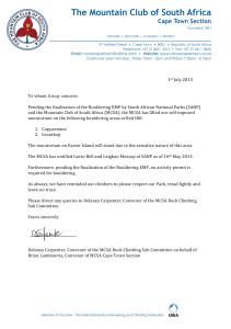 Redhill Moratorium Letter