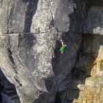 Jimbo Smith Climbing Table Mountain