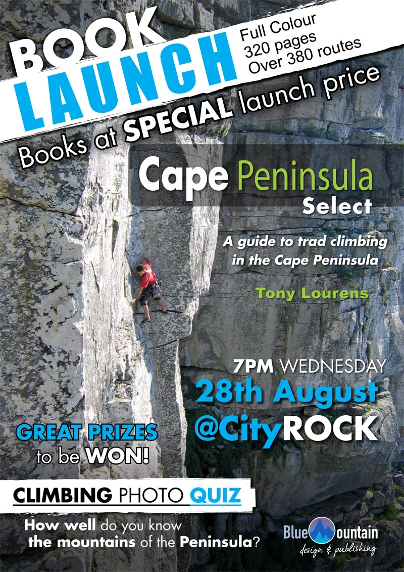 Cape Peninsula guide book launch