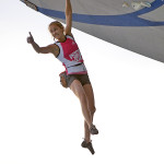 Sasha DiGiulian wins at Psicobloc.