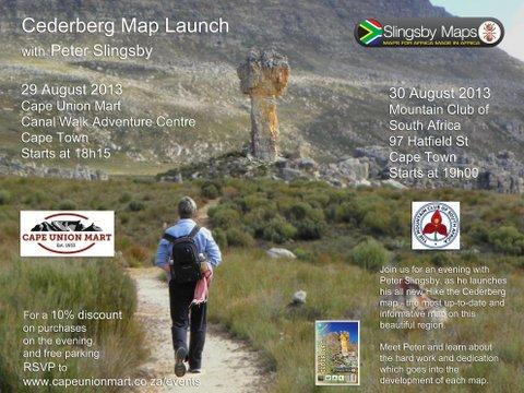 Slingsby Cederberg Map