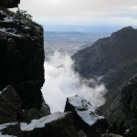 Snow on Table Mountain 2013