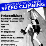 KZN Speed Climbing Competition