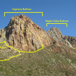 Cogmans Buttress Paths
