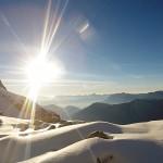 Chamonix sunrise